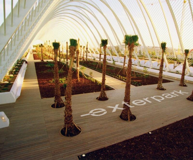 Ipè Classic l'Umbracle by Calatrava Valencia