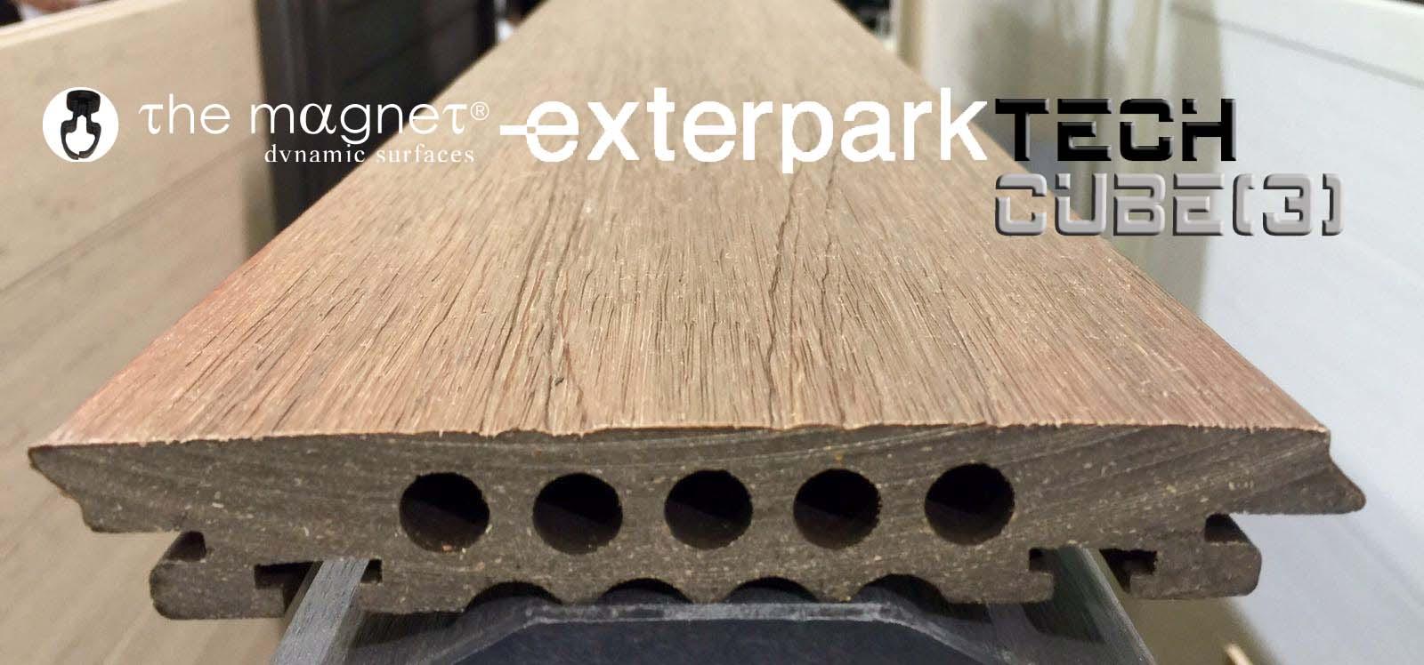 Exterpark Tech Cube il Decking Zero Manutenzione