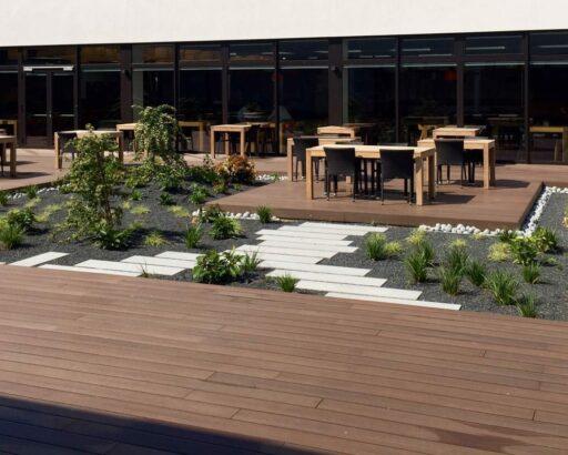 Exterpark Tech Cube IPE – Bionic Sport Hotel Bratislava