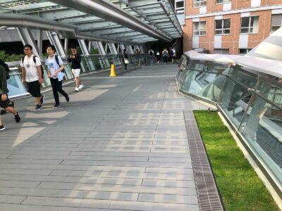 Exterpark Tech Rock Pizarra Polytechnic University Footbridge – Hong Kong