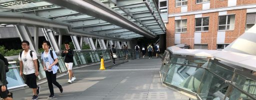 Exterpark Tech Rock Pizarra Polytechnic University Footbridge – Hong Kong