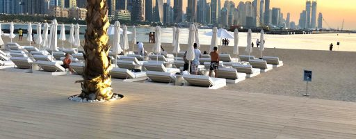 Exterpark Tech Cube Crema Five Palm Jumeirah Hotel – Dubai