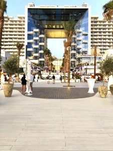 Exterpark Tech Cube Crema Five Palm Jumeirah Hotel - Dubai