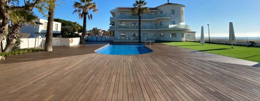Exterpark Tech Cube Ipe Hotel Playafels Castelldefels – Spagna