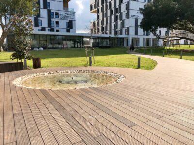 Exterpark Magnet Bamboo FSC Natural Herzliya University Israele