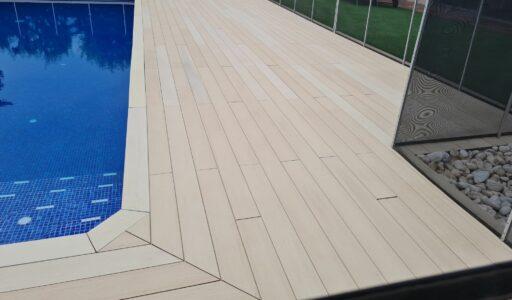 Exterpark Tech Cube Crema bordo piscina